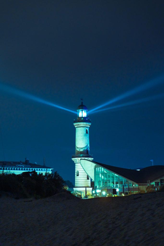 Leuchtturm in Rostock Warnemünde